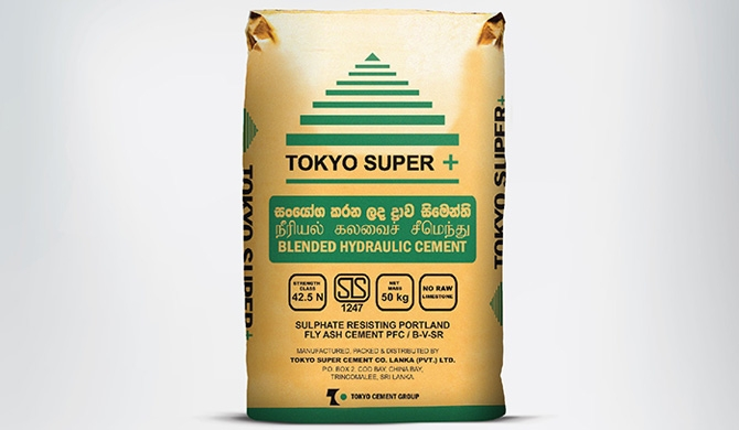 Tokyo Cement introduces TOKYO SUPER +