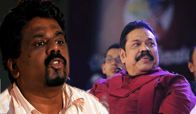 Anura speaks on behalf of Mahinda
