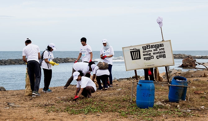 EU, UNOPS, and MEPA clean up Prithipura beach (Pics)