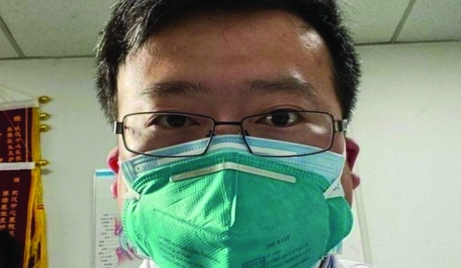 Coronavirus kills Chinese whistleblower doctor