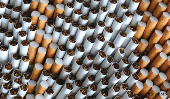 Stash of smuggled cigarettes seized