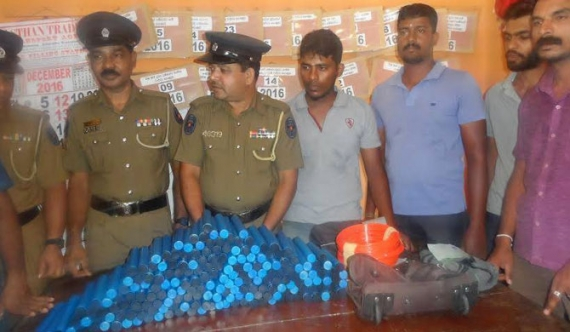 199 gelignite sticks seized in Vavuniya