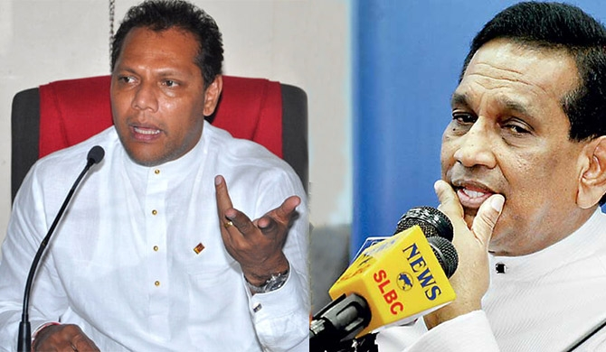 Cabinet spokesmen from UNP, SLFP on contesting LG polls