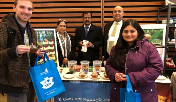 Ceylon Tea promotion at Toronto Tea Fest 2019