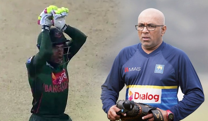 Mushfiqur's snake dance was for Hathurusinghe?