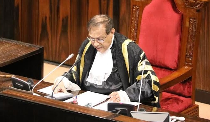 Speaker to test majority when parliament convenes on 14th