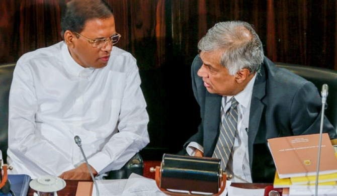 Ranil-Maithri share the same view for the first time!