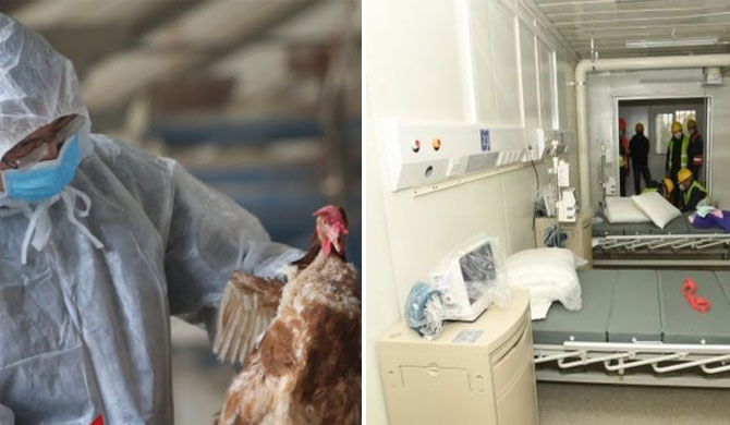 First Coronavirus hospital opens ; Bird flu in Hunan