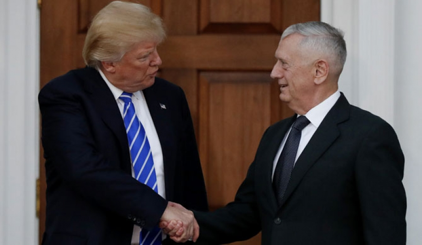 'Mad Dog' Mattis appointed US Defence Secretary