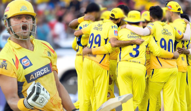 CSK members test positive for Covid-19