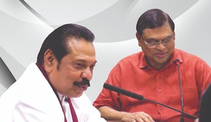 Basil to return to SL next week : MR to contest from K'negala or Gampaha?