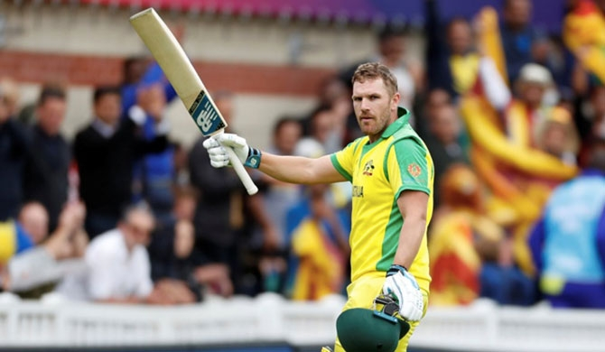 Finch's brilliant knock sets Australia up for 87-run win