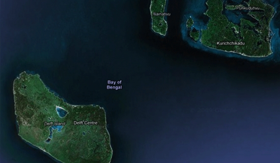 US Naval facility to Delft islets?