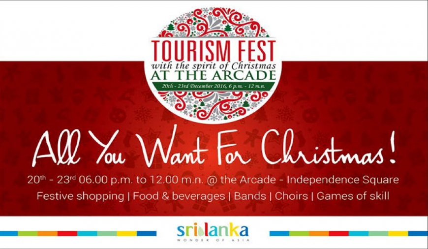 Sri Lanka Tourism to hold Tourism Fest in Christmas spirit
