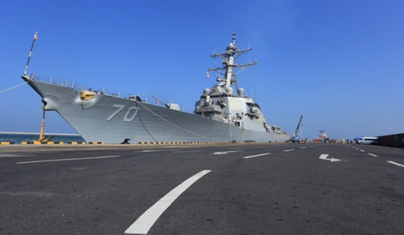 USS Hopper visit signals growing bilateral cooperation