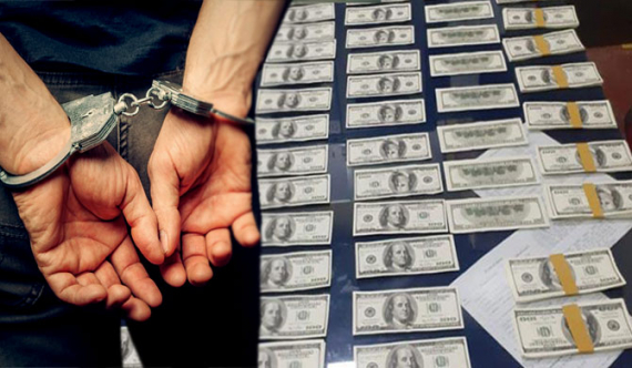 2 arrested for printing $100 bills