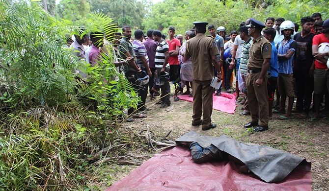 Body of missing man found with throat slit in Mullaitivu