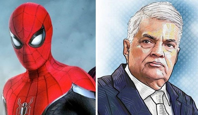 Did spider man get caught in PM's web?