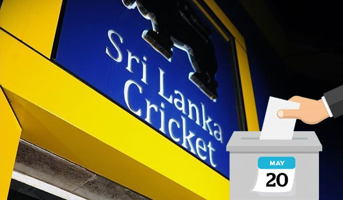 Sri Lanka Cricket election on May 20