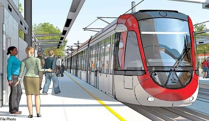 Light Rail Transit System project ended