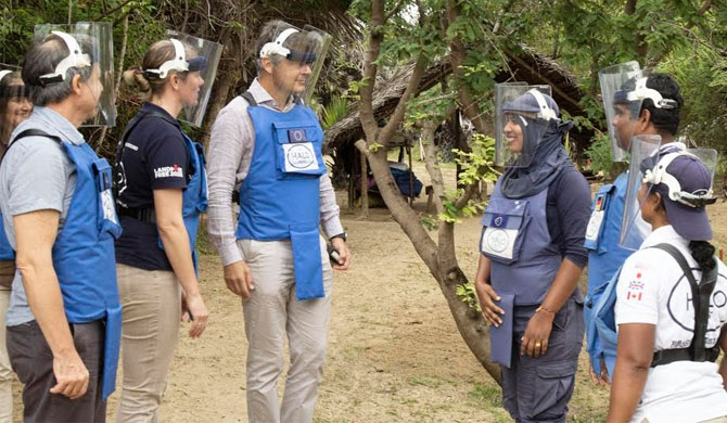 EU-funded demining project launched in Muhamalai