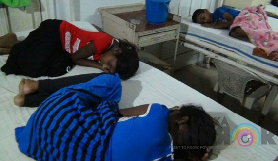 35 children hospitalised after NGO meal