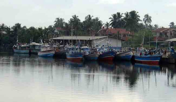 Black flags raised in Chilaw