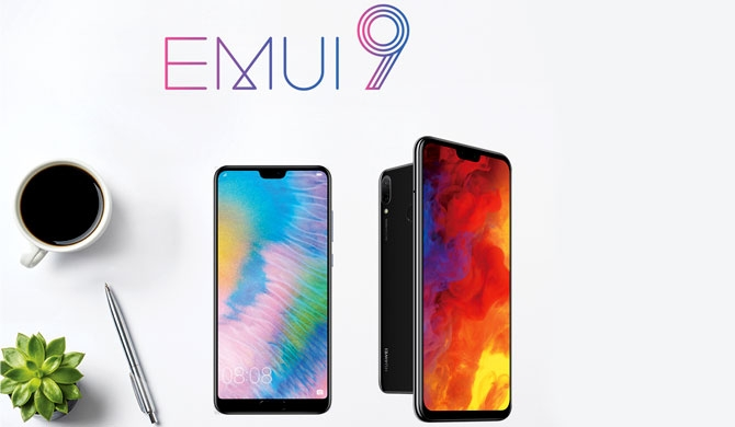 Huawei announces EMUI 9.0 update