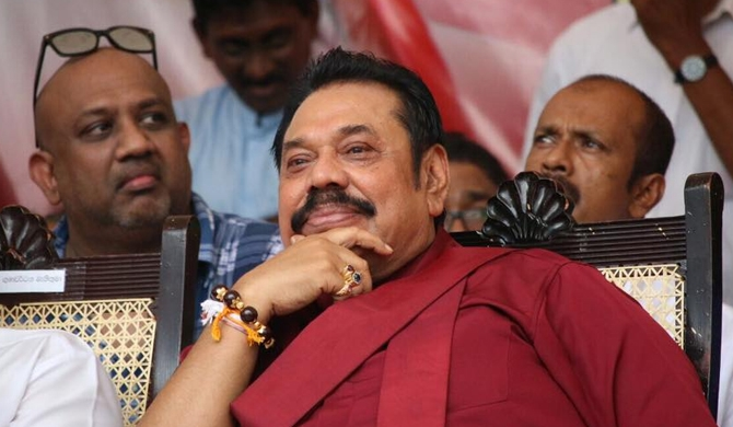 16 SLFP MPs will sit in the opposition - Mahinda