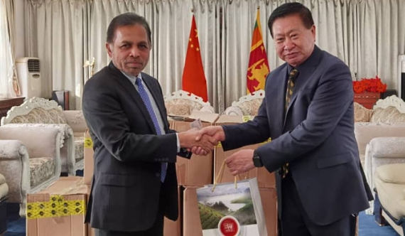FCCISL & Sri Lankan Embassy donate Ceylon Tea to China