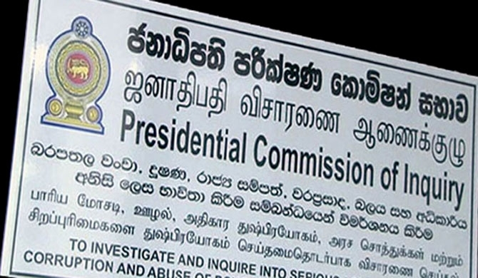 Presidential Commission to hear evidence today