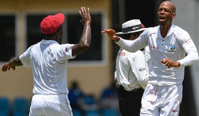 Chase, Bishoo spin West Indies to massive win