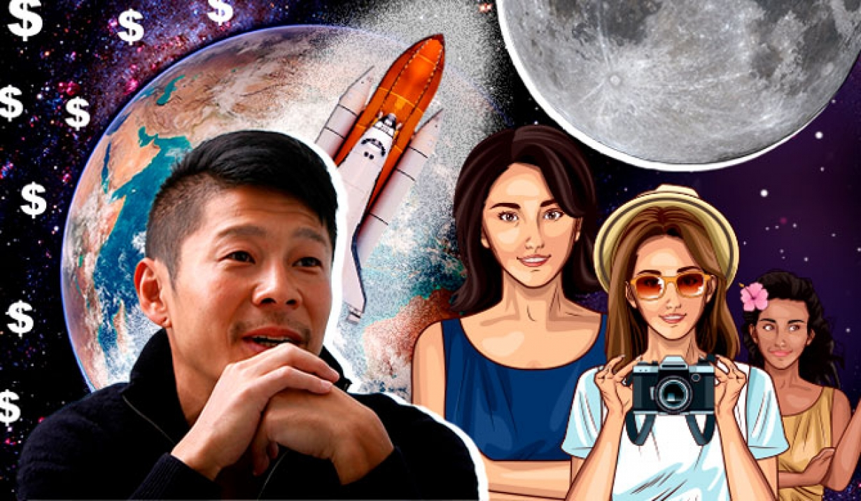 Billionaire cancels search for moon trip life partner