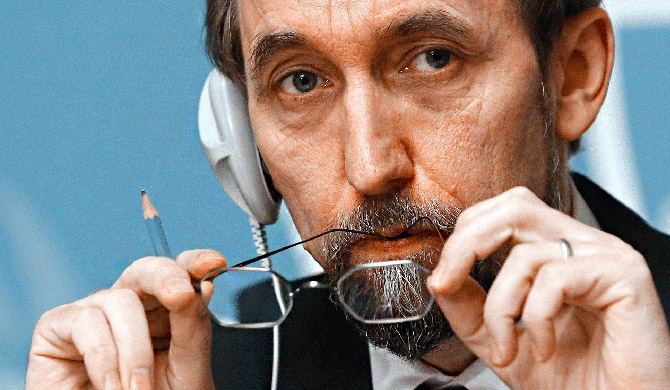 "Accountability is not a ""box-ticking exercise to placate the Council"" - Zeid"