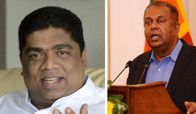 Cooray, not removed - Mangala