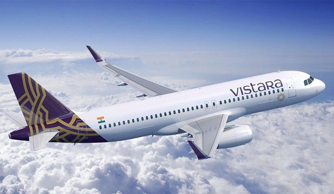 India's Vistara airline to launch flights to Colombo