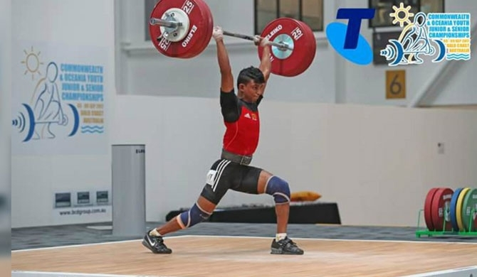 Sri Lanka wins Bronze at Asian Weightlifting C'ships!