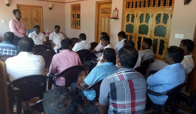 TNA, ex-LTTE discuss LG polls (pics)