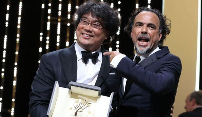 Parasite wins Cannes top award