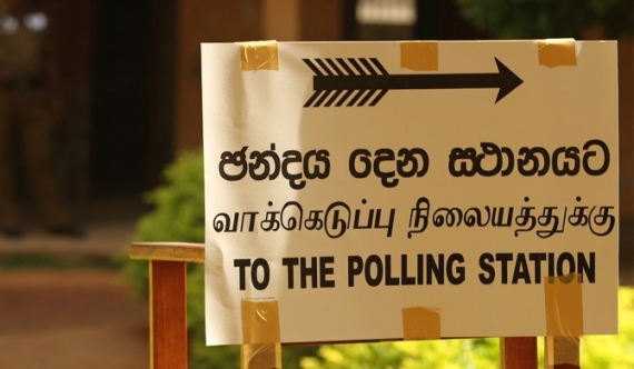 Three queues at five polling centres