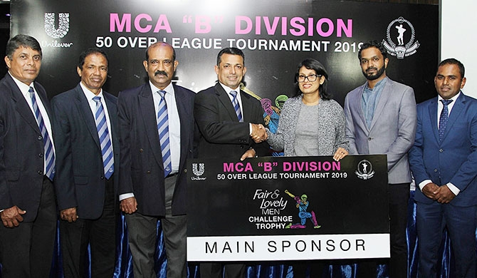 The title sponsorship cheque hand-over took place during the media conference on Sep. 19, 2018 at the Mercantile Cricket Association in the presence of the MCA President Roshan Iddamalgoda, MCA General Secretary Nalin Wickremasinghe and Chairman of the Tournament Committee, Sujeewa de Silva. Representing Unilever Sri Lanka was Marketing Director-Personal Care for Unilever Sri Lanka Nilushi Jayathilake and Senior Brand Manager Unilever Face Care – Daminda Perera.