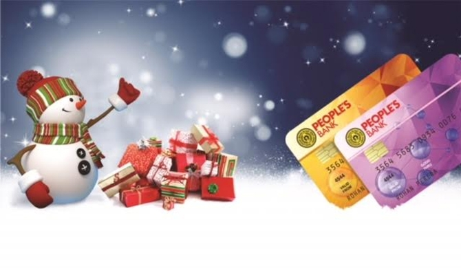 People's Bank celebrates Xmas with incredible offers