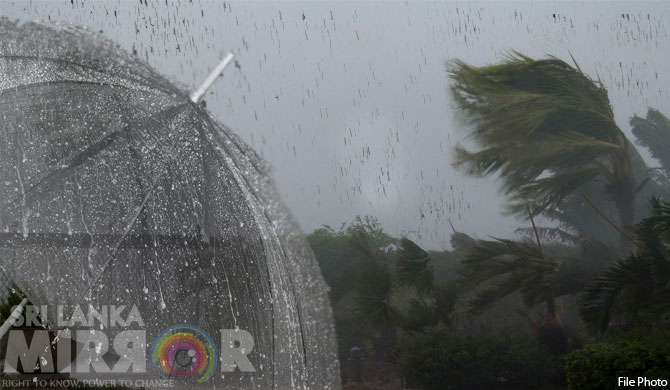 Winds, showers to increase from today