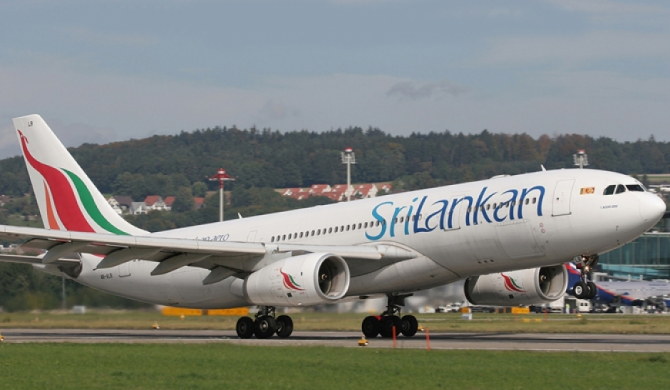 SriLankan Airlines named 'World's Leading Airline to Indian Ocean'