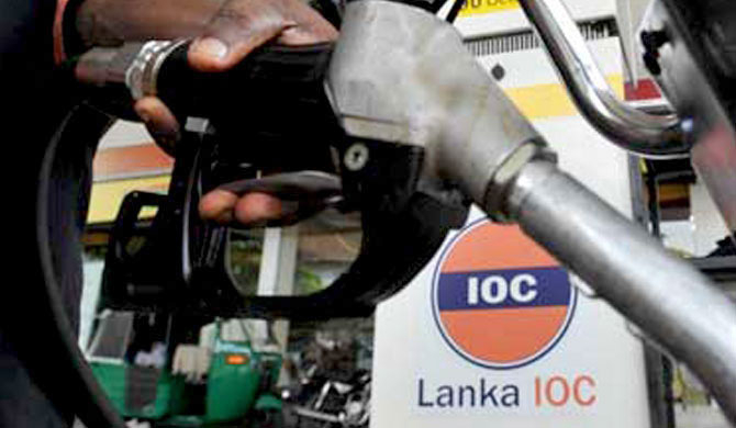 IOC diesel mixed with kerosene?