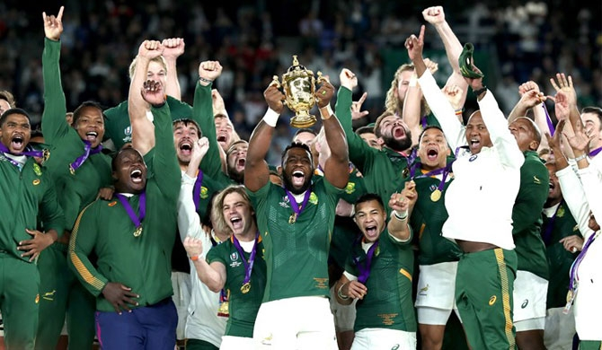 South Africa Wins Third Rugby World Cup Title Over England