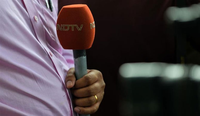India editors criticise raid on NDTV channel