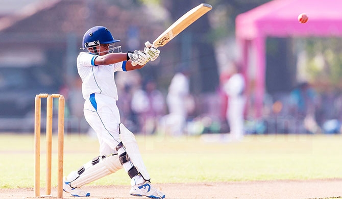 Young Santhul thrashes CCC with unbeaten century