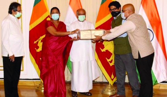 India donates 4th consignment of essential medicines to SL