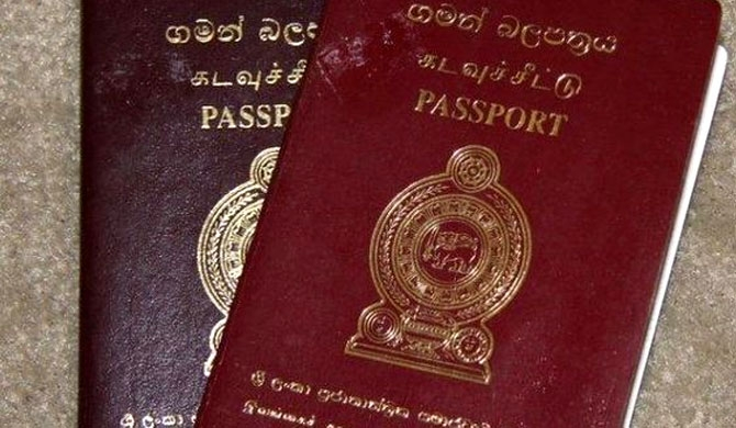 Sri Lanka's passport placed 94th out of 100 countries